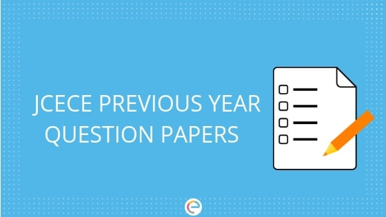 JCECE Previous Year Question Papers Download With Solution PDF