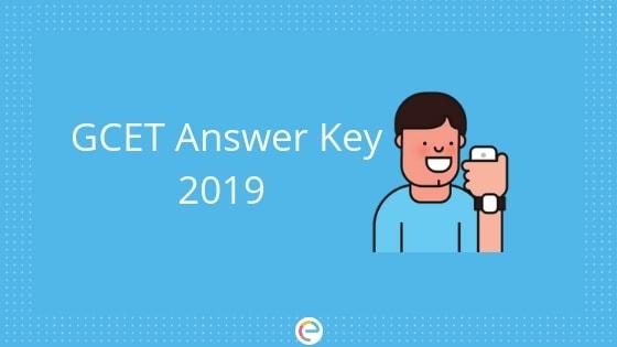 GCET Answer Key 2019
