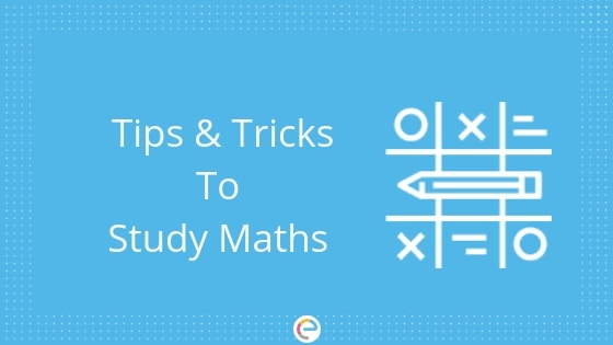 How to Study Maths