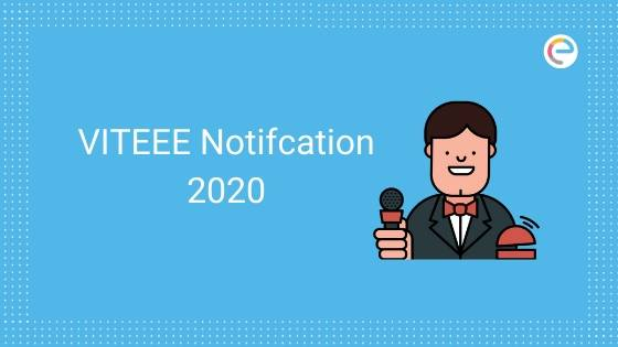 VITEEE Notification 2020 embibe