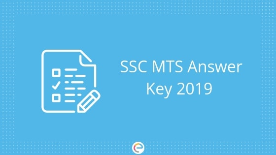 SSC MTS Answer Key 2019 (Released): Download SSC Multi