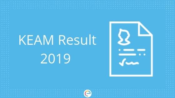 KEAM Result 2019