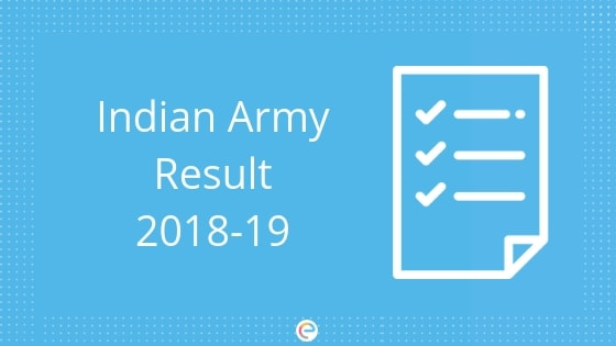 Join Indian Army Result 2018-2019 | Check your Indian Army Rally