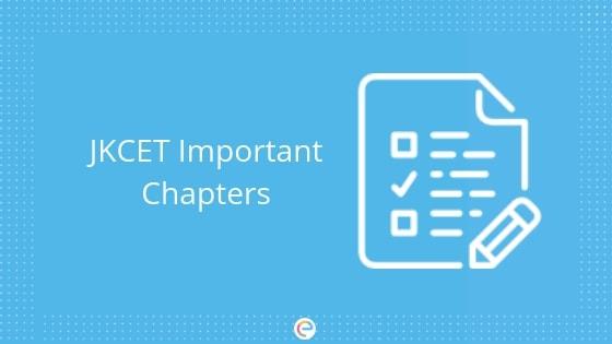 jkcet important chapters