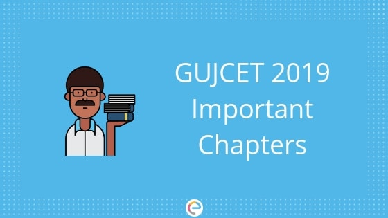 GUJCET Important Chapters