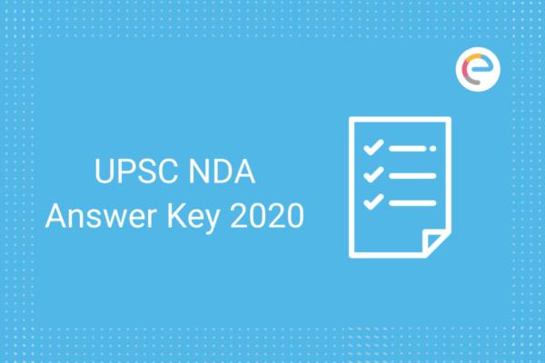 UPSC NDA Answer Key 2020