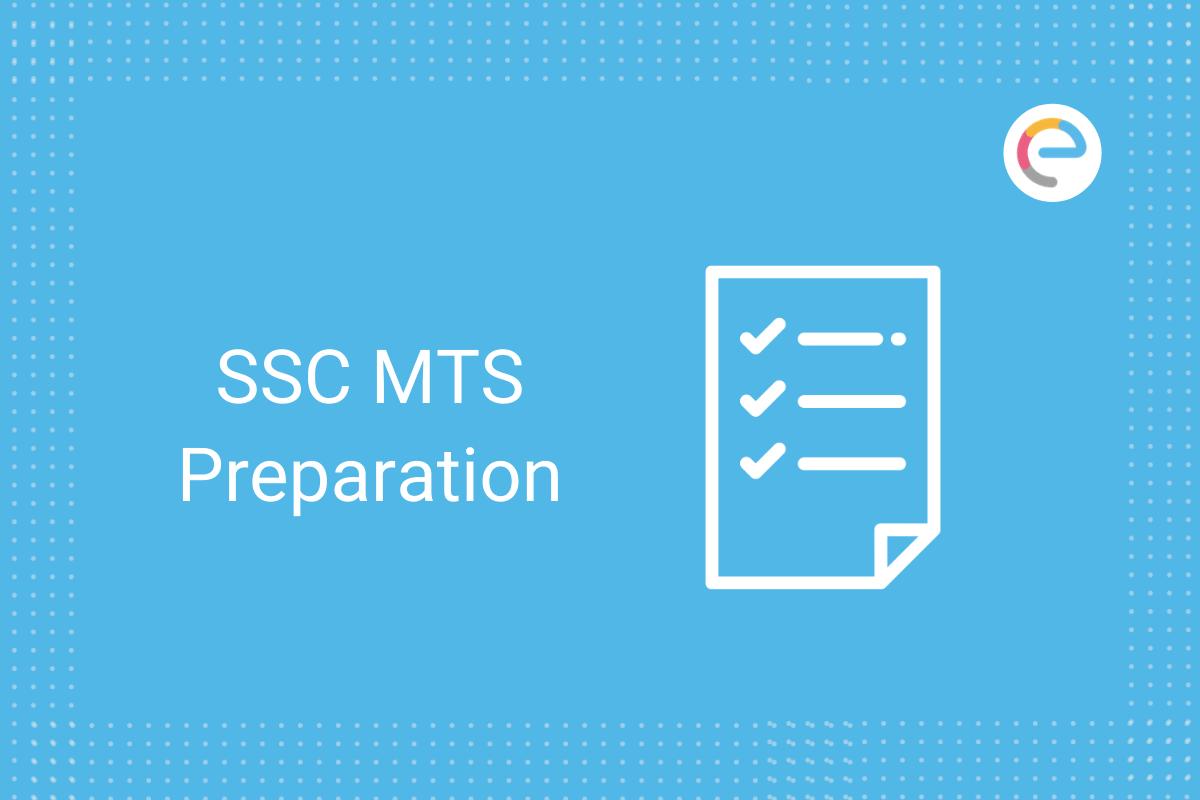 SSC MTS Preparation 2021