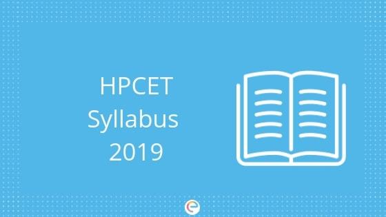 HPCET Syllabus