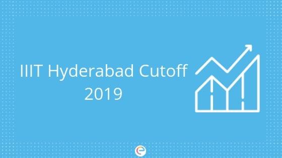 IIIT Hyderabad Cutoff 2019