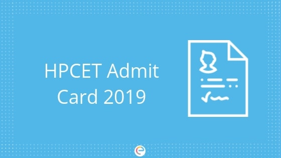 HPCET Admit Card 2019 | Download Your HPCET e-Admit Card @ himtu.ac.in