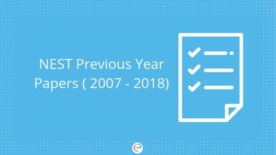 NEST Question Papers
