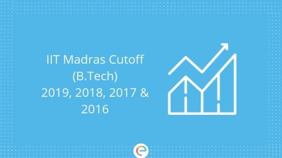 IIT Madras Cutoff 2019: Previous Year JEE Advanced Cutoff For IIT