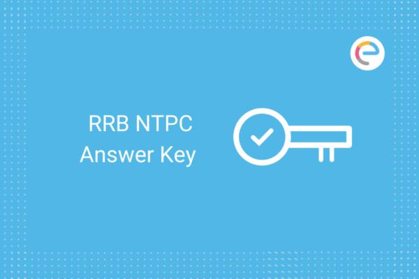 RRB NTPC Answer Key 2021