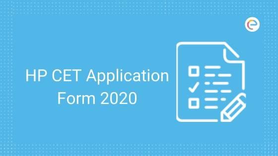 HPCET Application Form 2020