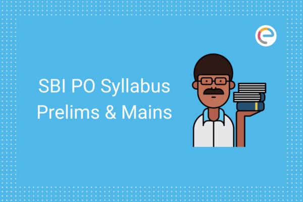 SBI PO Syllabus 2020 embibe