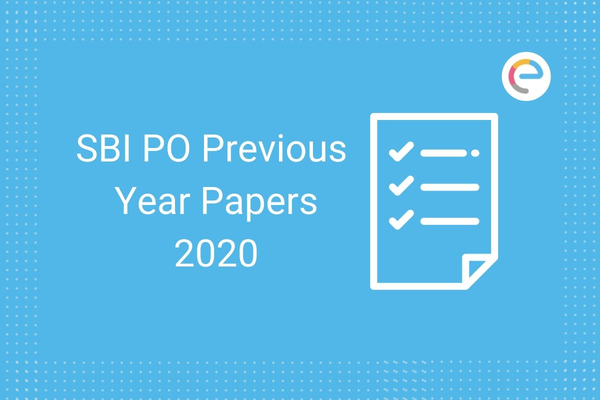 sbi po previous year papers