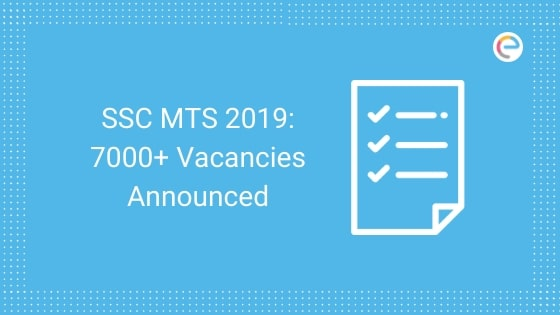 SSC MTS Recruitment 2019 Vacancy Vacancies (1)