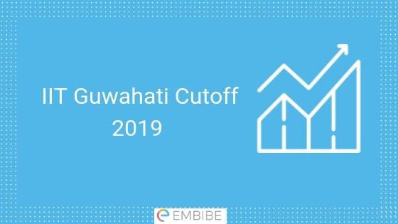 IIT Guwahati Cutoff 2019