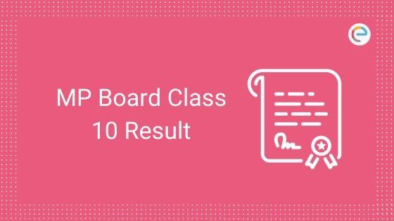 MP Board Class 10 Result