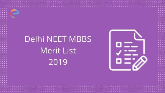 NEET MBBS Delhi Rank List