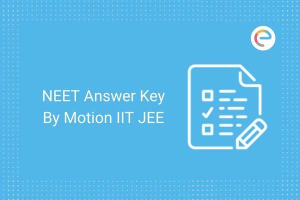NEET Answer Key By Motion IIT JEE