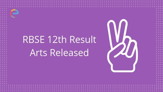 RBSE Class 12 Result Arts Released