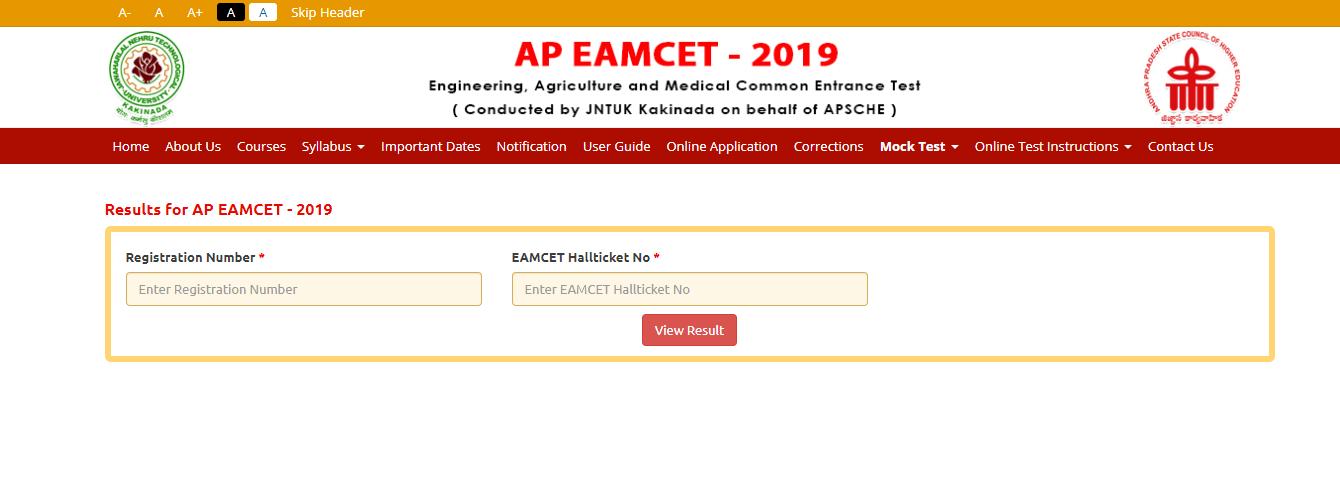 AP EAMCET Result -Embibe