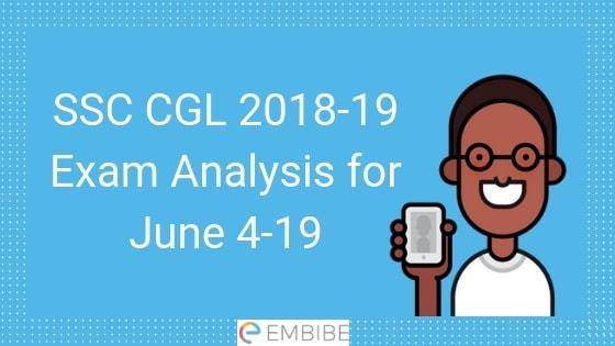 SSC CGL Analysis - Embibe