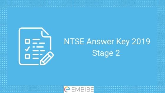 NTSE Answer Key stage 2
