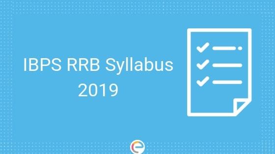 IBPS RRB Syllabus 2019