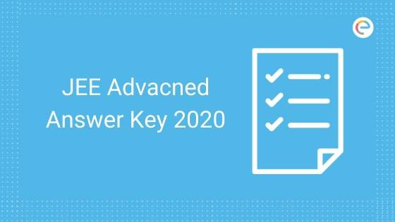 JEE Advanced Answer Key 2020