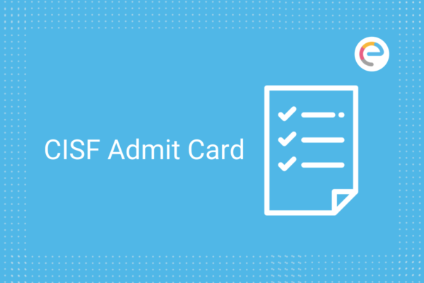 CISF Admit Card