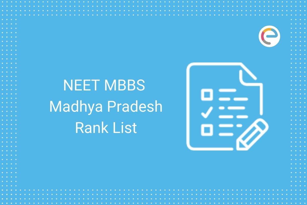 NEET MBBS MP Rank List
