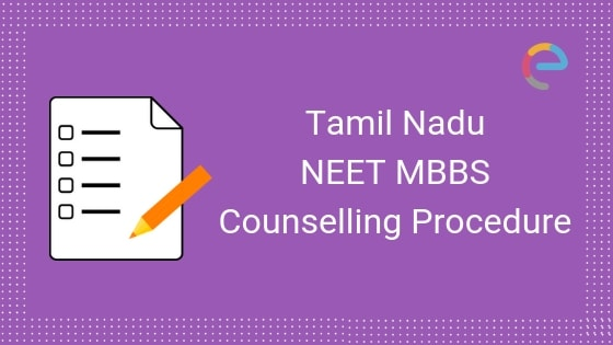 NEET MBBS Counselling Tamil Nadu 2019 - Embibe
