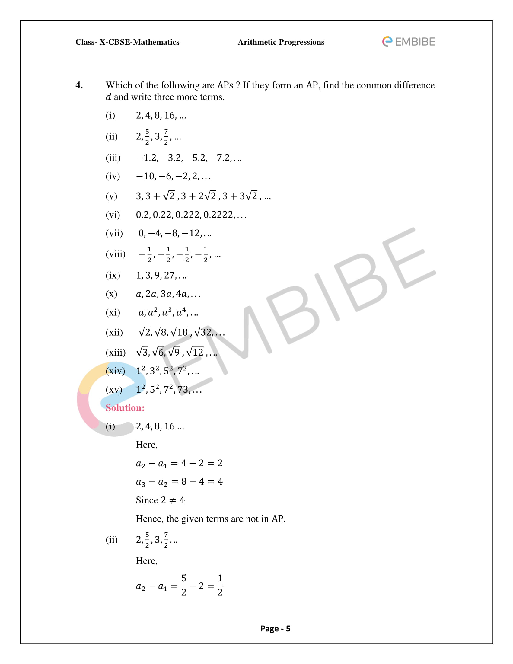 Chapter 5_Arithmetic Progressions-05