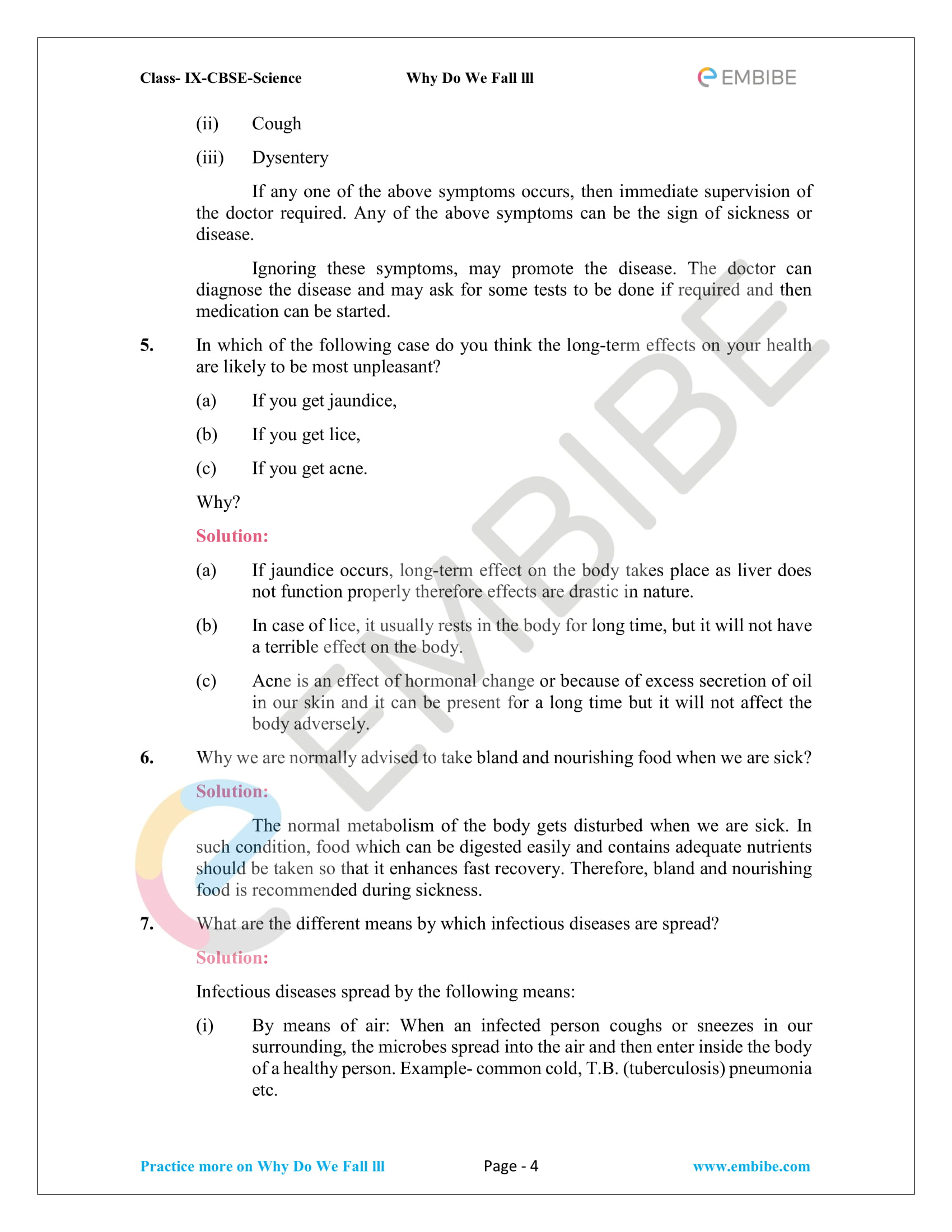 CBSE NCERT Solutions for Class 9 Science Chapter 13-4