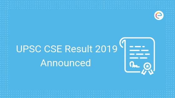 UPSC IAS Prelims Result 2019