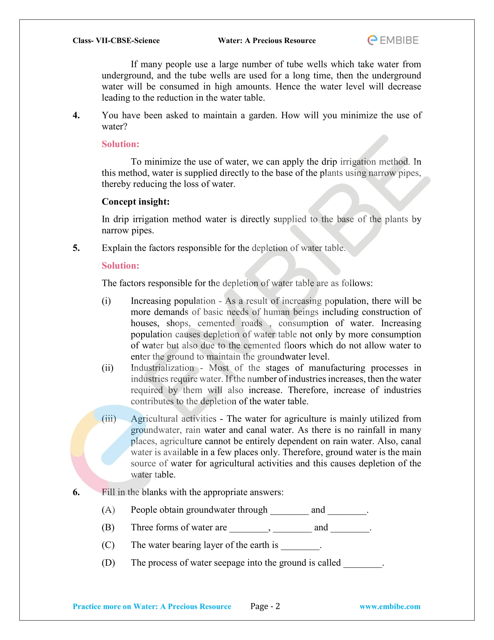 CBSE NCERT Solutions For Class 7 Science Chapter 16