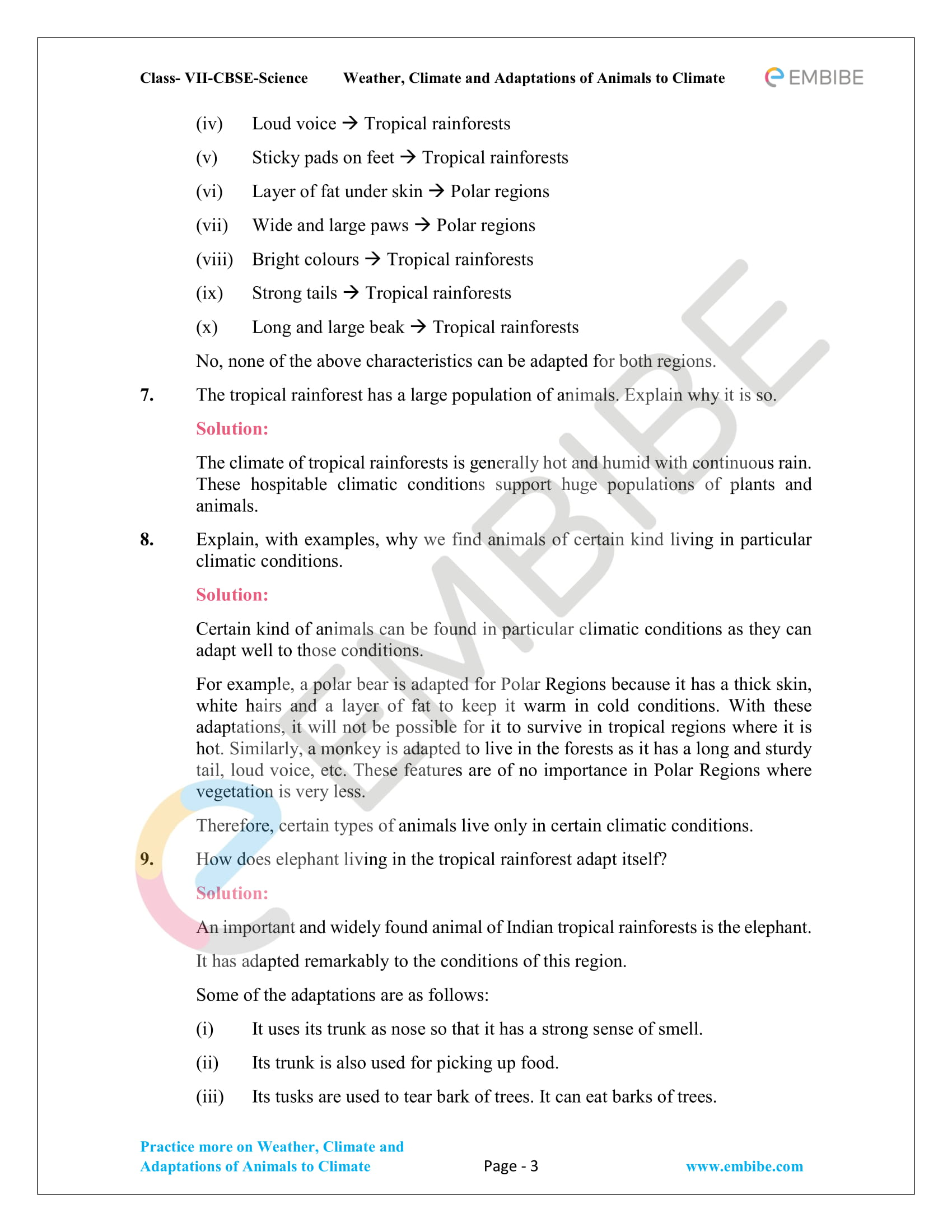 CBSE NCERT Solutions For Class 7 Science Chapter 7