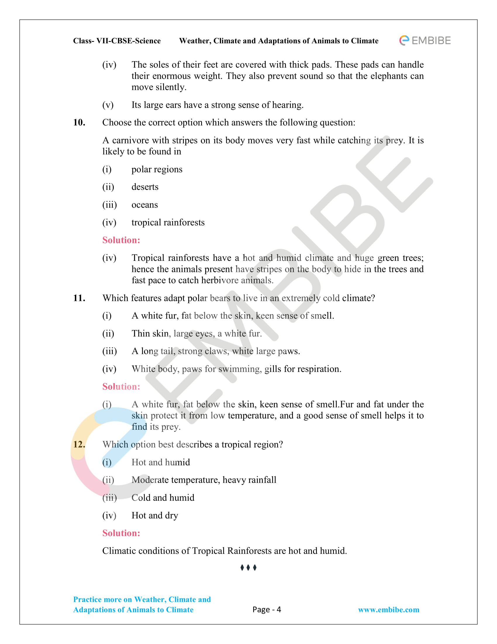 CBSE NCERT Solutions For Class 7 Science Chapter 7 Page-4