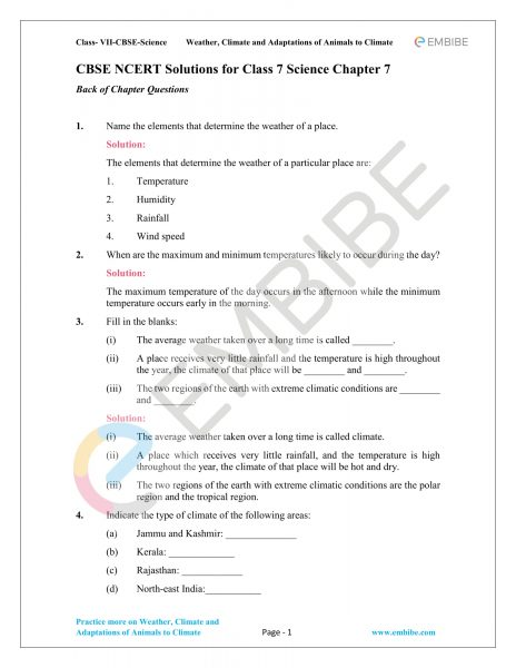 CBSE NCERT Solutions For Class 7 Science Chapter 10: Respiration In Organisms (PDF Download)