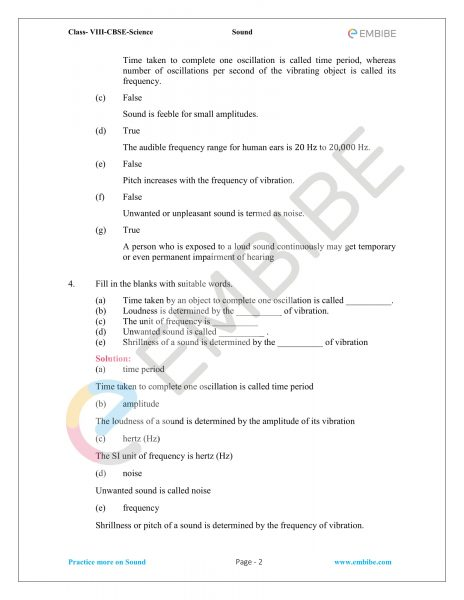 NCERT Solutions for Class 8 Science Chapter 13 sound embibe-2