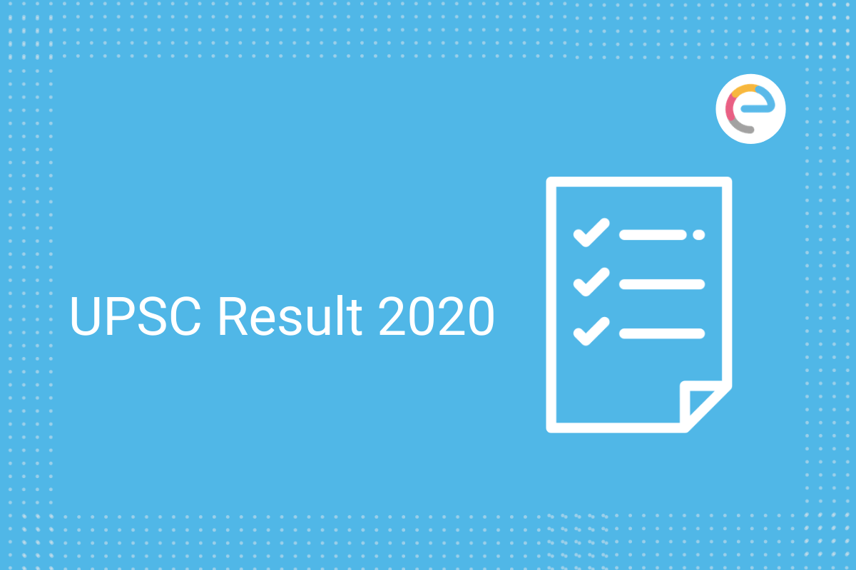 UPSC Result 2020