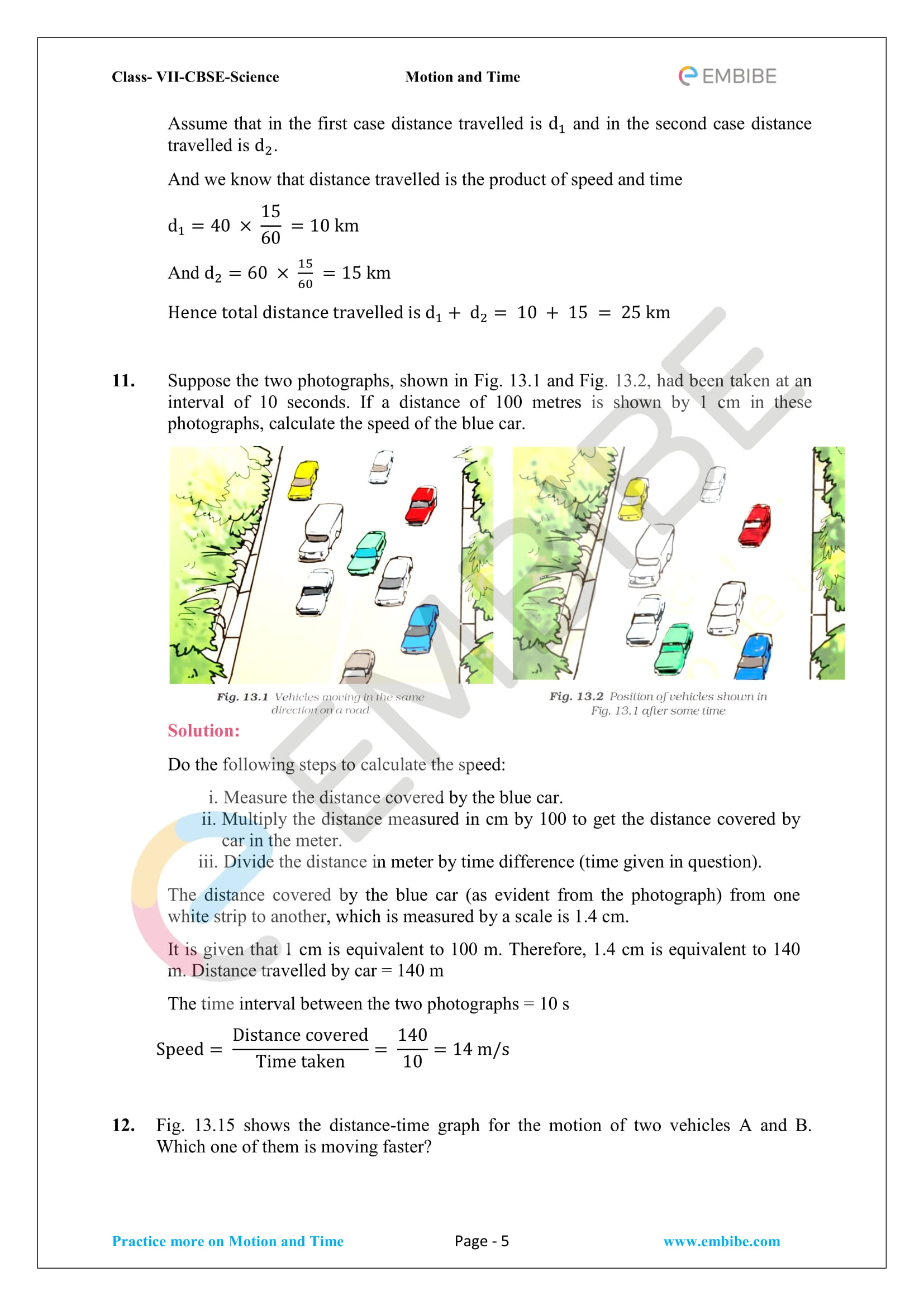 NCERT Solutions For Class 7 Science Chapter 13