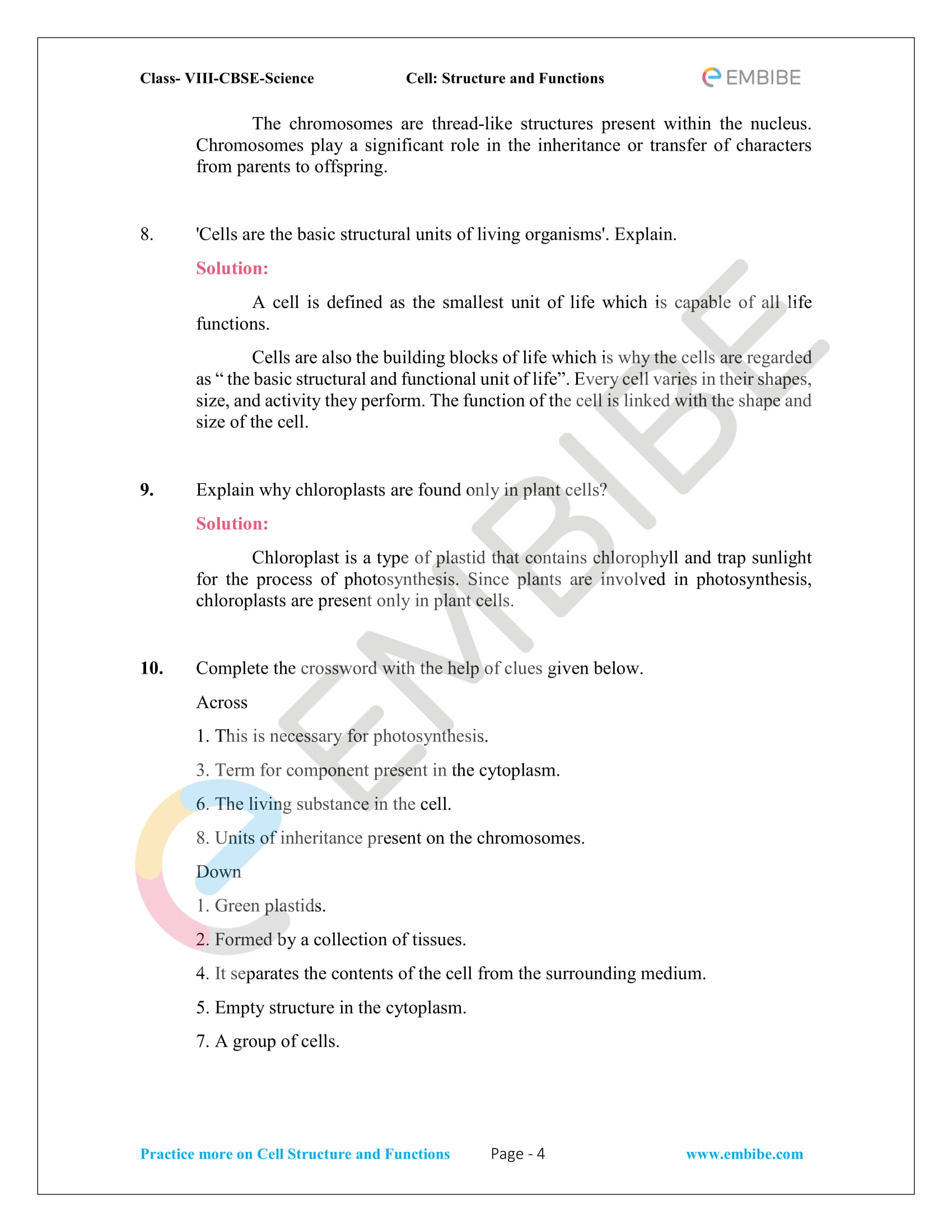 ncert solutions for class 8 science chapter 8