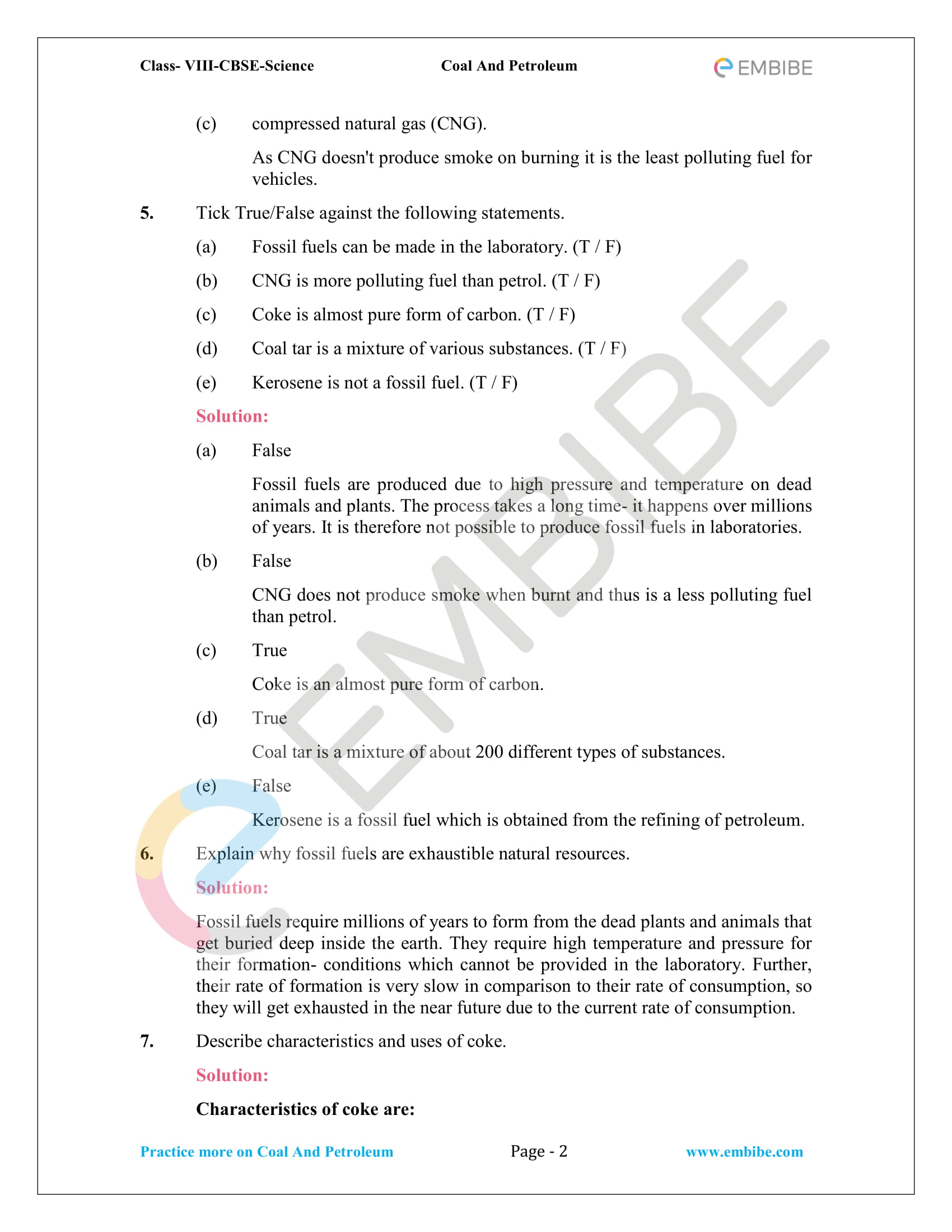 NCERT Solutions For Class 8 Science Chapter 5 PDF: Download