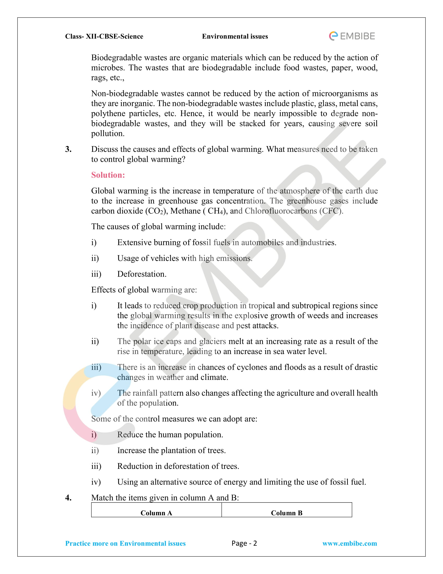 NCERT Solutions For Class 12 Biology Chapter 16 PDF