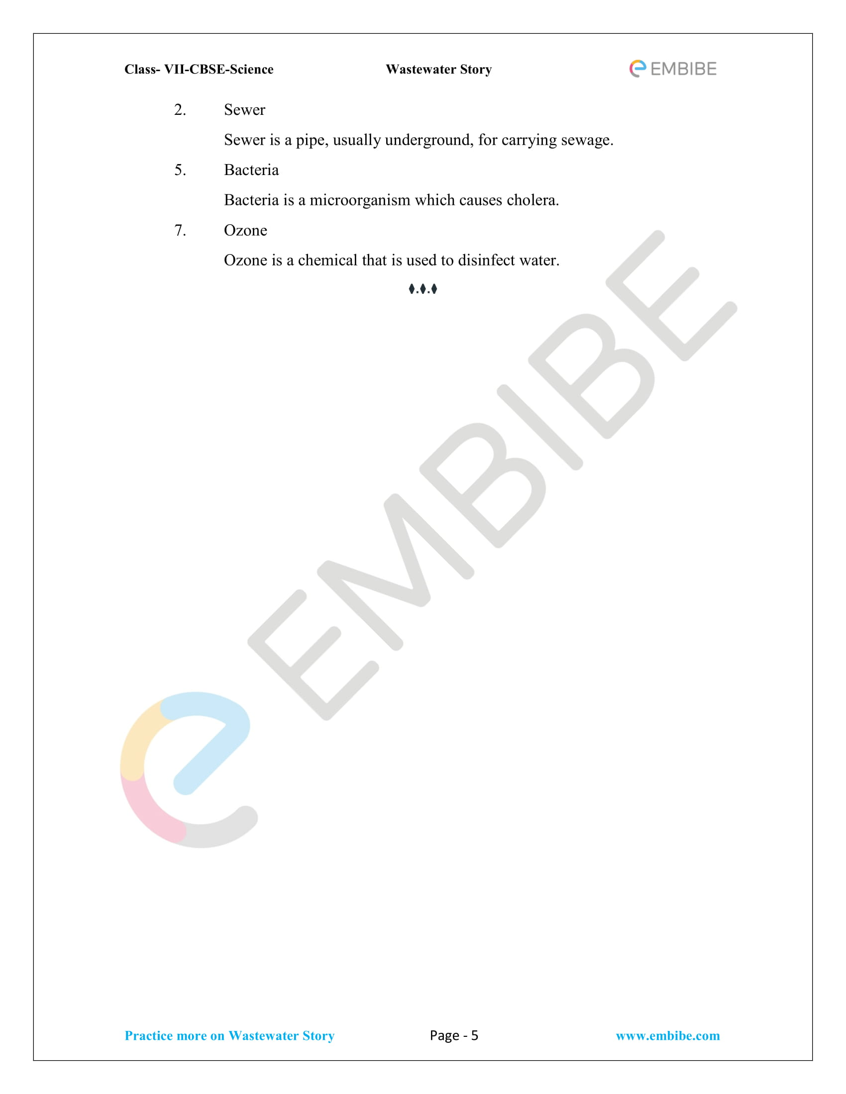 Class 2 Wastewater Practice Exam