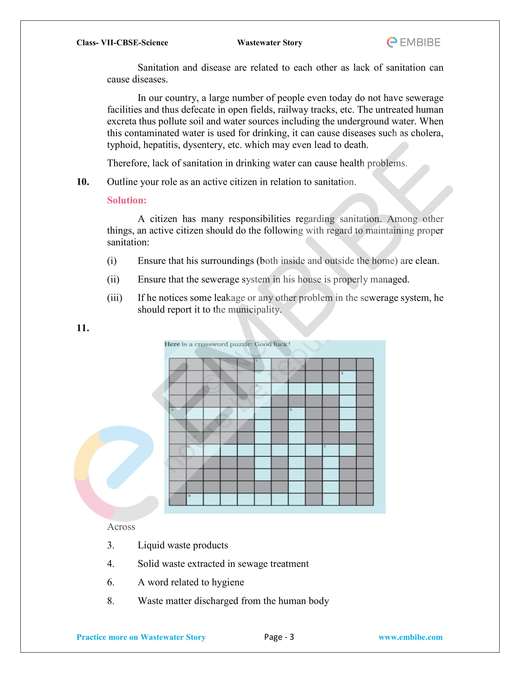 NCERT Solutions for Class 7 Science Chapter 18