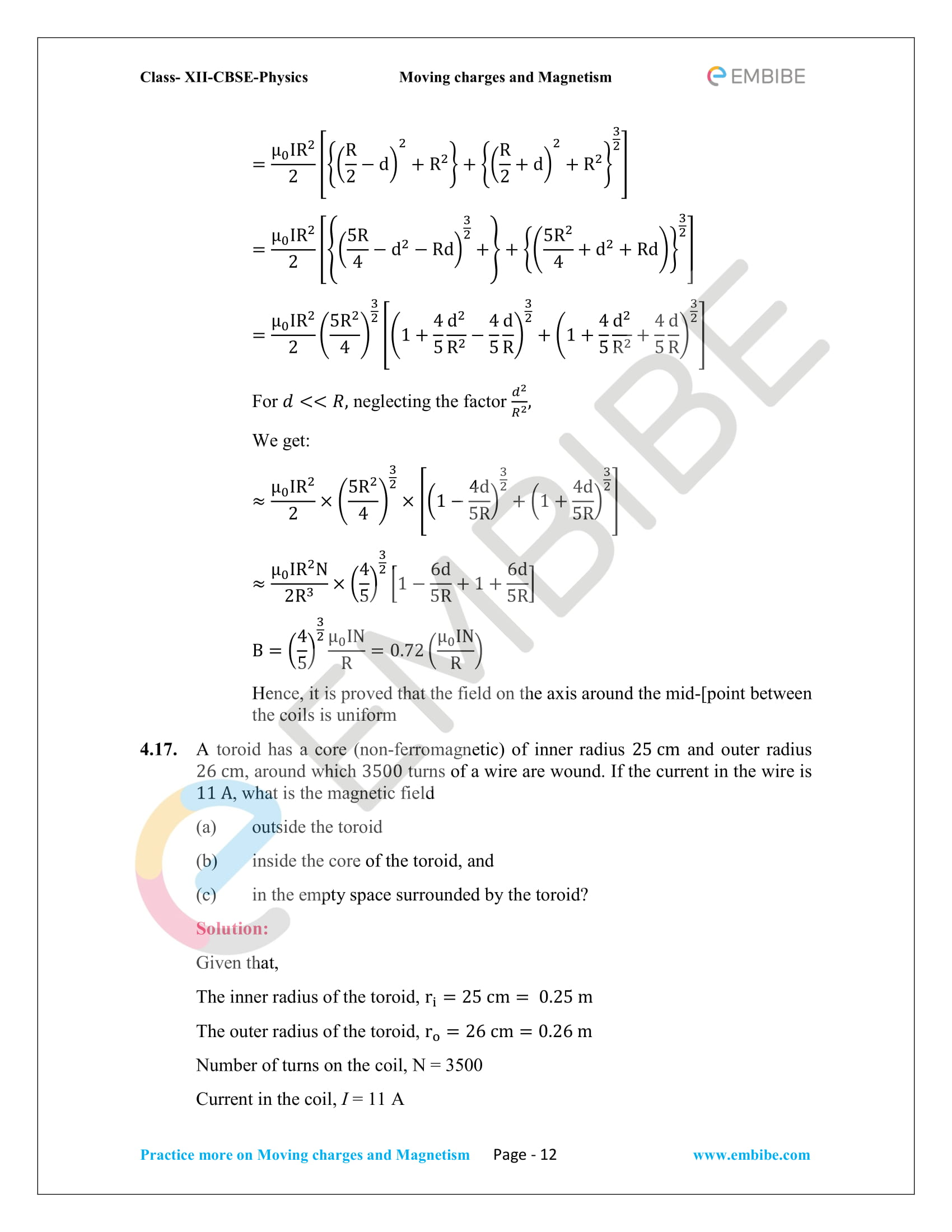 NCERT_Grade 12_Physics_Ch_04_Moving Charges and Magnetism-12
